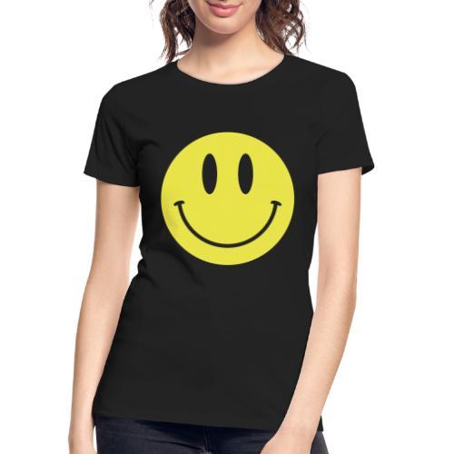 Smiley - Women's Premium Organic T-Shirt