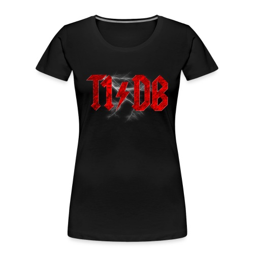 T1/DB AC/DC Style - Women's Premium Organic T-Shirt