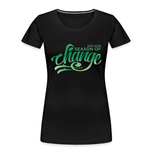 Season of Change - Women's Premium Organic T-Shirt