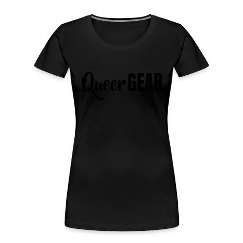 Queer Gear T-Shirt - Women's Premium Organic T-Shirt