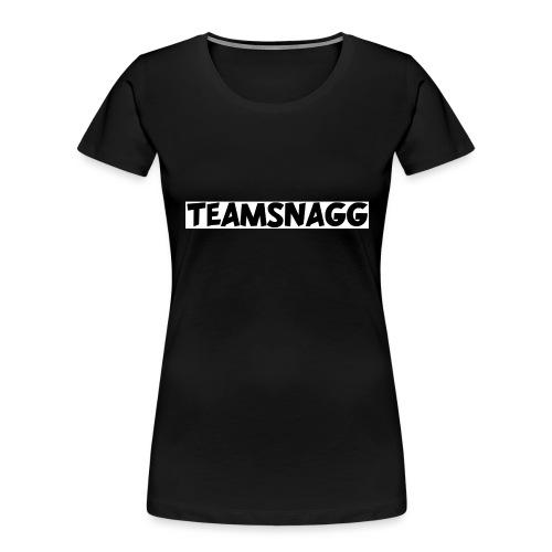 TeamSnagg Logo - Women's Premium Organic T-Shirt