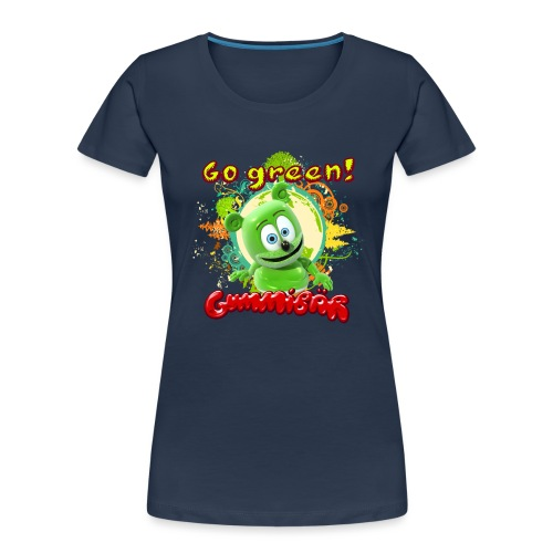 Gummibär Go Green Earth Day Trees - Women's Premium Organic T-Shirt
