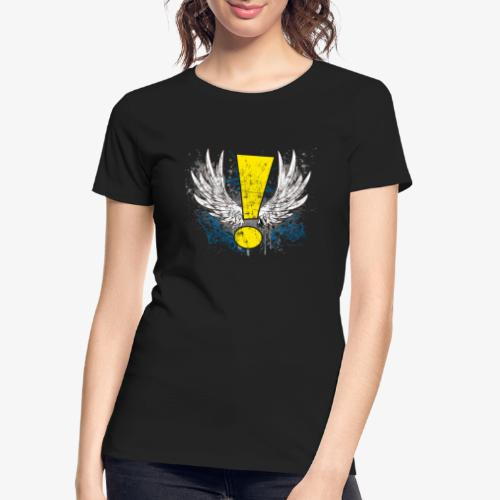 Winged Whee! Exclamation Point - Women's Premium Organic T-Shirt