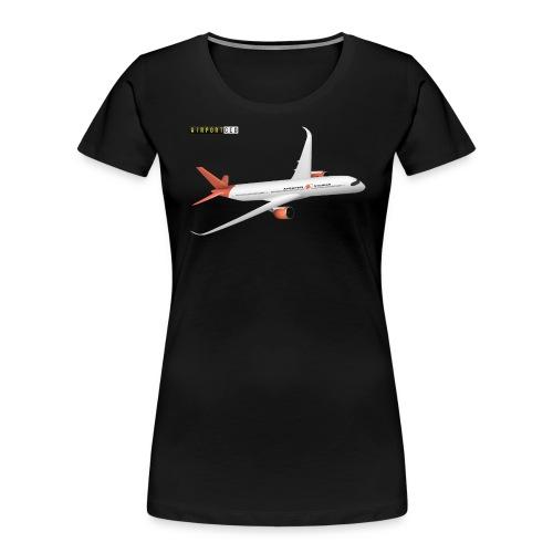 Apoapsis Airlines - Women's Premium Organic T-Shirt