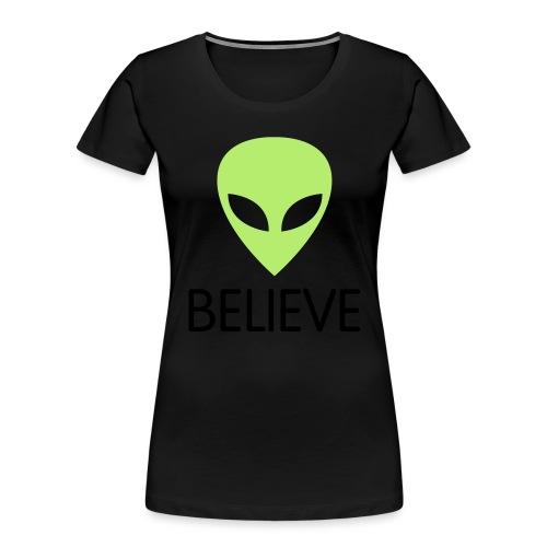 BELIEVE - Women's Premium Organic T-Shirt