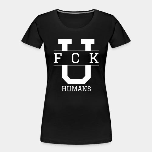 humans - Women's Premium Organic T-Shirt