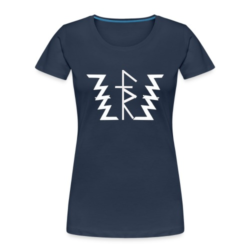 Faith Runnerz Tee Logo - Women's Premium Organic T-Shirt
