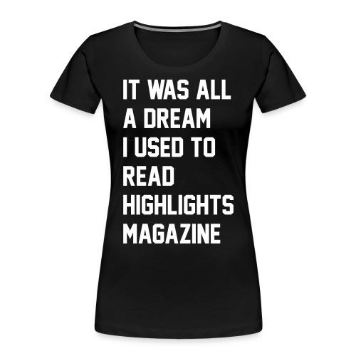JUICY 1 - Women's Premium Organic T-Shirt