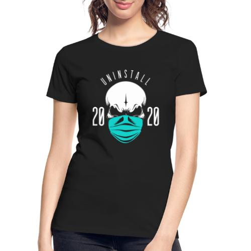 uninstall 2020 - Women's Premium Organic T-Shirt