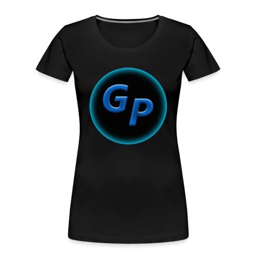 Large Logo Without Panther - Women's Premium Organic T-Shirt