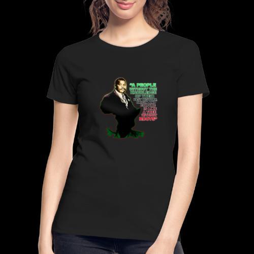 Marcus Garvey Afrika - Women's Premium Organic T-Shirt