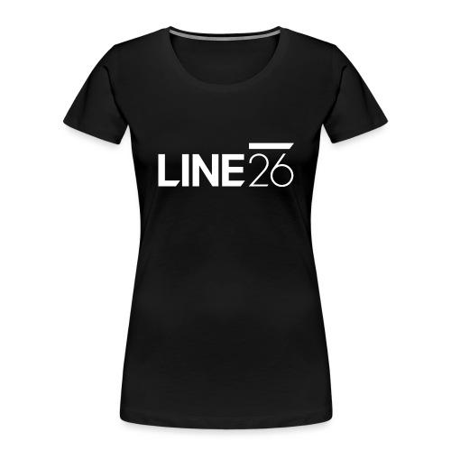 Line26 Logo (Light Version) - Women's Premium Organic T-Shirt