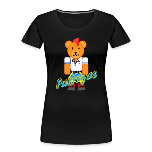 Skinhead Furrrgus - Women's Premium Organic T-Shirt