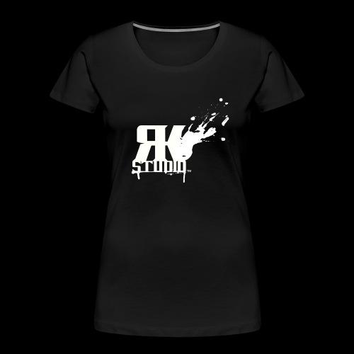 RKStudio White Logo Version - Women's Premium Organic T-Shirt