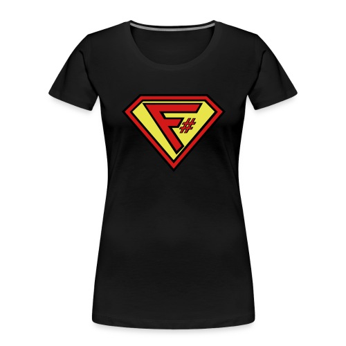 F# Hero Woman - Women's Premium Organic T-Shirt