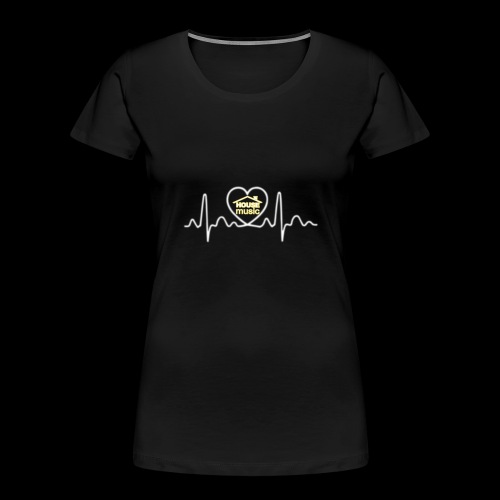 House Music Pulse! - Women's Premium Organic T-Shirt
