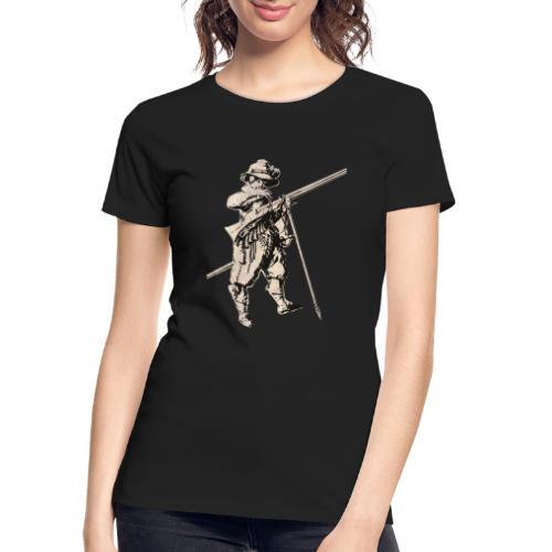 Soldier with mosquet - Women's Premium Organic T-Shirt