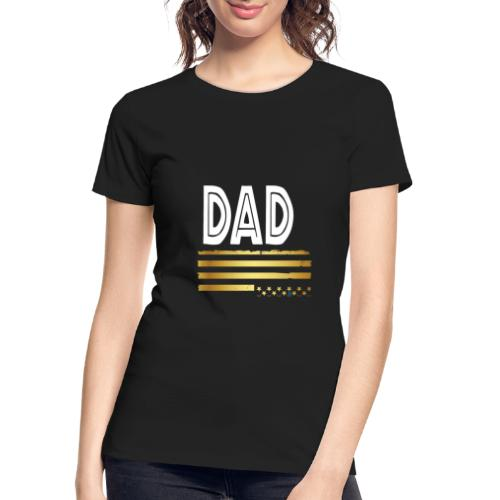 Golden dad - Women's Premium Organic T-Shirt