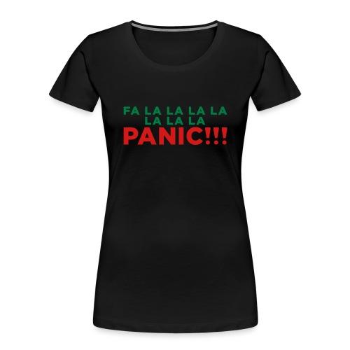 Anxiety Christmas - Women's Premium Organic T-Shirt