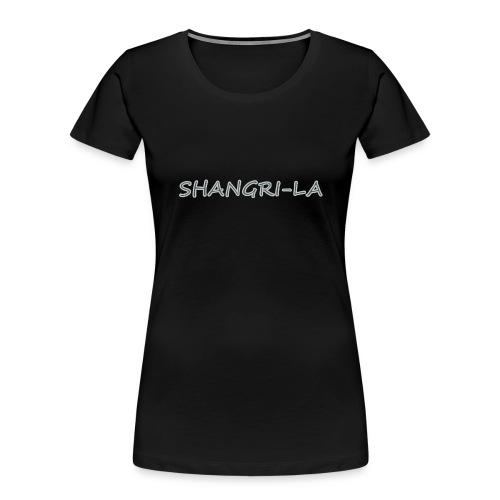 Shangri La silver - Women's Premium Organic T-Shirt