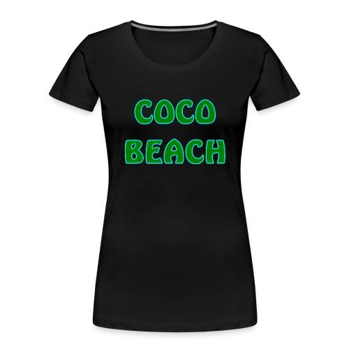 Coco beach - Women's Premium Organic T-Shirt