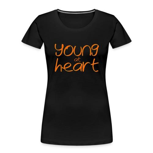 young at heart - Women's Premium Organic T-Shirt