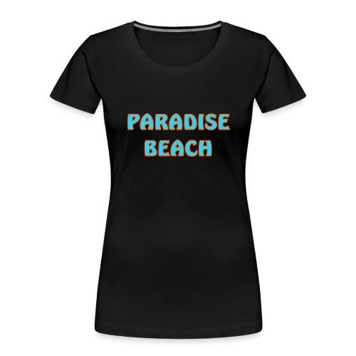 Paradise beach - Women's Premium Organic T-Shirt