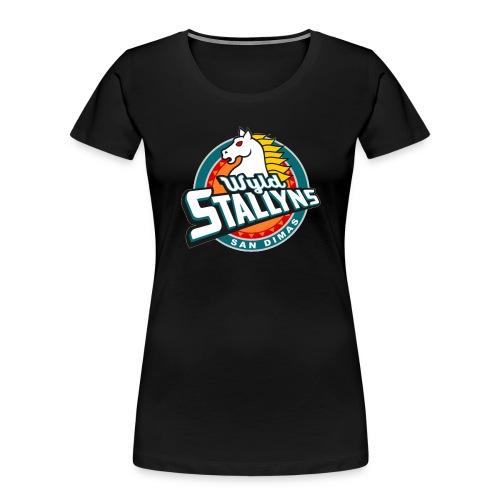 Stallyns logo - Women's Premium Organic T-Shirt