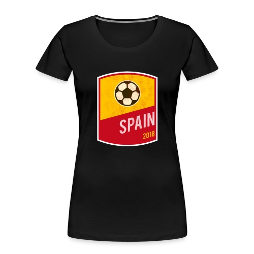 Spain Team - World Cup - Russia 2018 - Women's Premium Organic T-Shirt