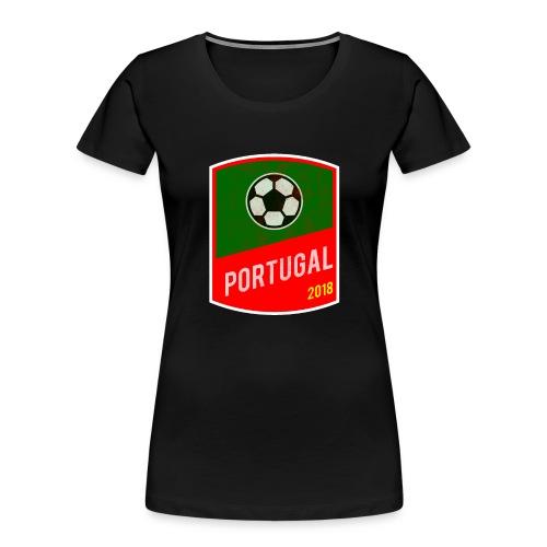 BadgePortugal - Women's Premium Organic T-Shirt