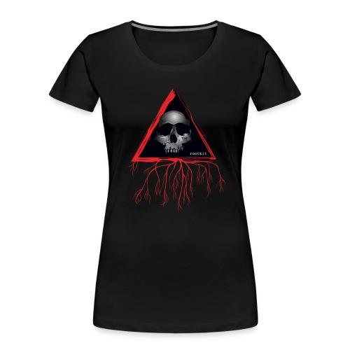 Rootkit Hoodie - Women's Premium Organic T-Shirt