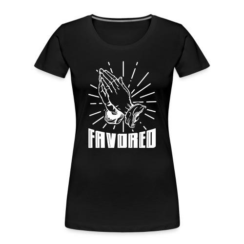 Favored - Alt. Design (White Letters) - Women's Premium Organic T-Shirt