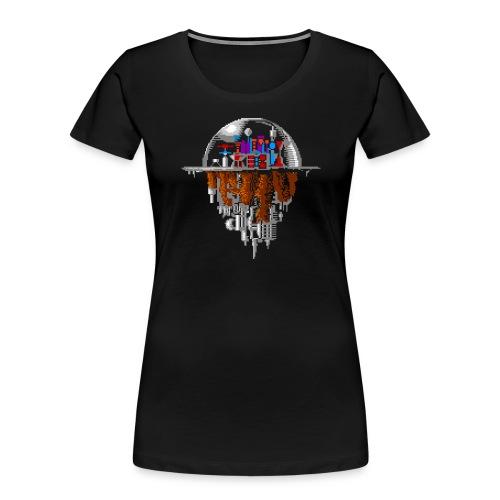 Sky city - Women's Premium Organic T-Shirt