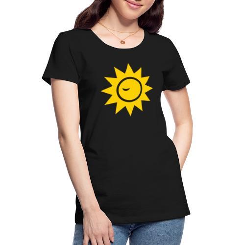 Winky Sun - Women's Premium Organic T-Shirt