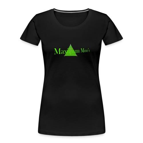 Maximum Moos - Women's Premium Organic T-Shirt
