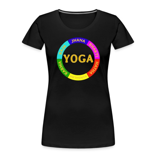 6 ways of Yoga - Women's Premium Organic T-Shirt