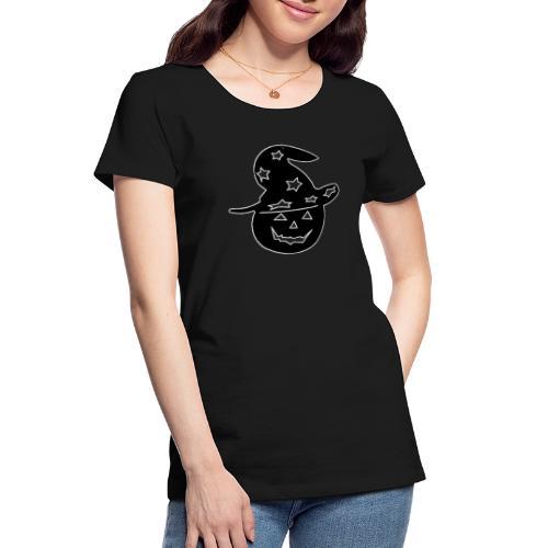 Halloween pumpkin - Women's Premium Organic T-Shirt