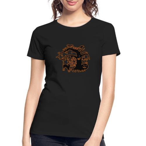 Halloween tree - Women's Premium Organic T-Shirt