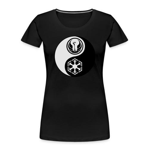 Star Wars SWTOR Yin Yang 2-Color - Women's Premium Organic T-Shirt