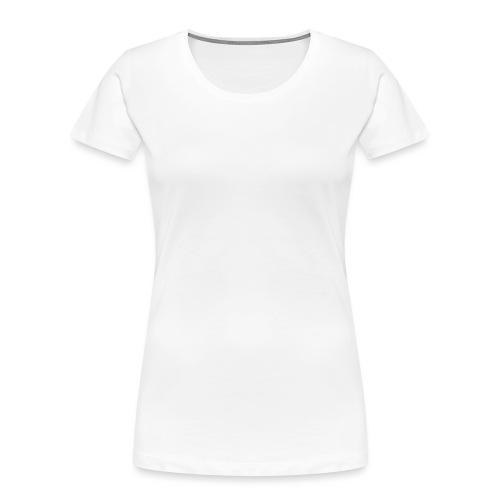 Disc Golf Basket White Print - Women's Premium Organic T-Shirt