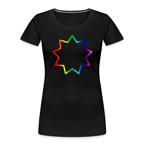 Baha´i rainbow - Women's Premium Organic T-Shirt
