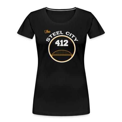 Steel City Long Sleeve Shirts - Women's Premium Organic T-Shirt