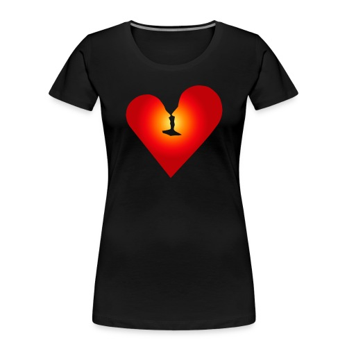 Loving heart - Women's Premium Organic T-Shirt