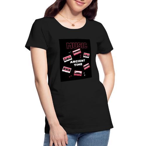 Music Ancient time - Women's Premium Organic T-Shirt