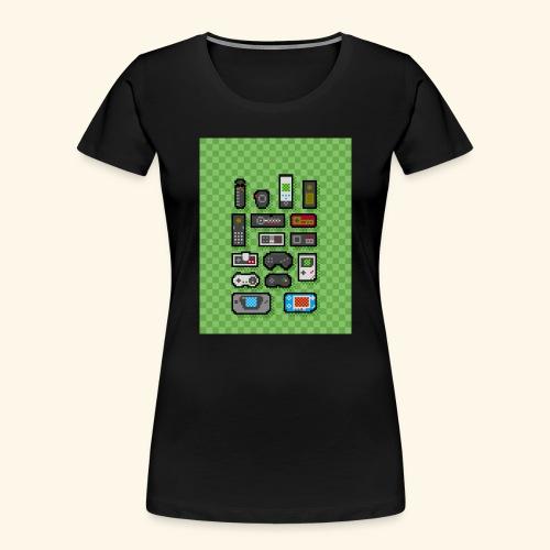 controller handy - Women's Premium Organic T-Shirt