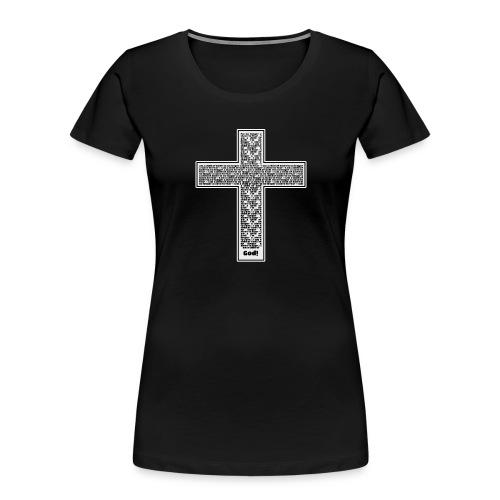 Jesus cross. I'm no longer a slave to fear. - Women's Premium Organic T-Shirt