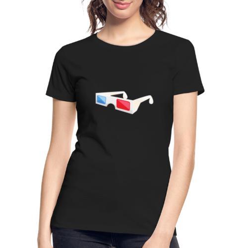 3D glasses - Women's Premium Organic T-Shirt