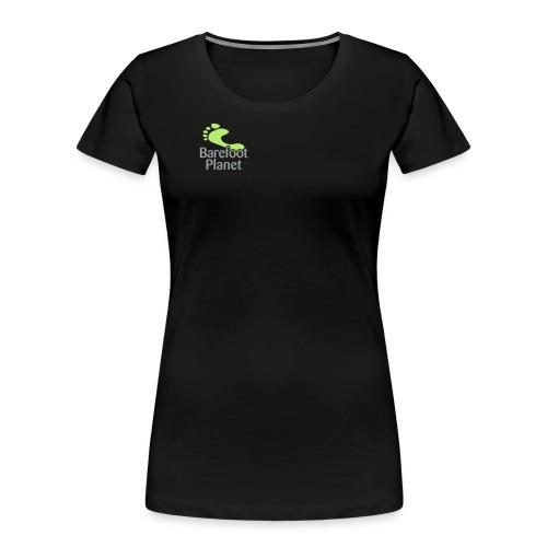 I Run Better, I Run Barefoot Women's T-Shirts - Women's Premium Organic T-Shirt