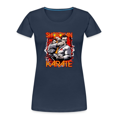 Shotokan Karate - Women's Premium Organic T-Shirt