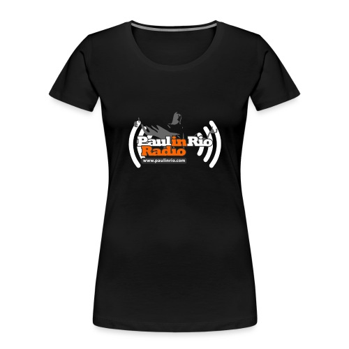 Paul in Rio Radio - Thumbs-up Corcovado #1 - Women's Premium Organic T-Shirt